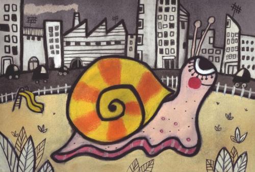 Escargot en ville